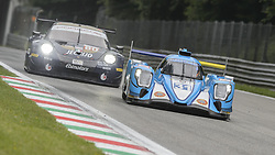 May 11, 2019 - Monza, MB, Italy - ALGARVE PRO RACING (Kim, Enqvist and French) entering Ascari chicane during Free Practice Session 2 of ELMS italian round in Monza. (Credit Image: © Riccardo Righetti/ZUMA Wire)