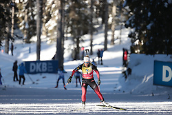 14.02.2021, Center Pokljuka, Pokljuka, SLO, IBU Weltmeisterschaften Biathlon, Sprint, Damen, im Bild eckhoff (tiril) (nor) // during womens Sprint competition of IBU Biathlon World Championships at the Center Pokljuka in Pokljuka, Slovenia on 2021/02/14. EXPA Pictures © 2021, PhotoCredit: EXPA/ Pressesports/ Frederic Mons<br /> <br /> *****ATTENTION - for AUT, SLO, CRO, SRB, BIH, MAZ, POL only*****