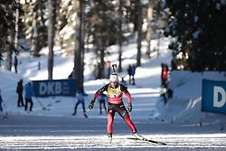 14.02.2021, Center Pokljuka, Pokljuka, SLO, IBU Weltmeisterschaften Biathlon, Sprint, Damen, im Bild eckhoff (tiril) (nor) // during womens Sprint competition of IBU Biathlon World Championships at the Center Pokljuka in Pokljuka, Slovenia on 2021/02/14. EXPA Pictures © 2021, PhotoCredit: EXPA/ Pressesports/ Frederic Mons<br /> <br /> *****ATTENTION - for AUT, SLO, CRO, SRB, BIH, MAZ, POL only*****