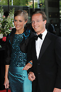 H.R.H. Princess Máxima of the Netherlands to Celebrate Her Birthday With a Few of Her Closest Royal Friends with a concert in the Concertbuilding in Amstyerdam.<br /> <br /> Her Royal Highness Princess Máxima of the Netherlands will be celebrating her 40th birthday in a concert of the Royal Concertgebouw Orchestra at the Concertgebouw in Amsterdam.<br /> <br /> Besides friends, family, members of foreign royal houses there will also be people there with whom she has worked with the for the past 10 years.<br /> <br /> On the Photo:<br /> <br />  Prins Jaime de Bourbon de Parme en Paulette van Ommen