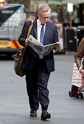 May 9, 2017 - London, London, United Kingdom - Image ©Licensed to i-Images Picture Agency. 09/05/2017. London, United Kingdom. Michael Gove interview,London..Former Education and Justice secretary arrives at LBC studios in central London after announcing on May 4th that he will be standing in Surrey Heath in the general election. Picture by Mark Thomas / i-Images (Credit Image: © Mark Thomas/i-Images via ZUMA Press)