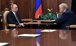 June 7, 2017 - Moscow, Russia - June 7, 2017. - Russia, Moscow. - Russian President Vladimir Putin at a meeting with A Just Russia Chairman Sergey Mironov  (Credit Image: © Russian Look via ZUMA Wire)
