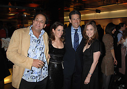 Left to right, GERALD FOX, HOLLY PETERSON, JAMES RUBIN a former assistant to President Bill Clinton and JODY FRIEDMAN at a party to celebrate the launch of Holly Peterson's debut novel 'The manny' held at Selfridges, Oxford Street, London on 26th February 2007.<br /><br />NON EXCLUSIVE - WORLD RIGHTS