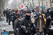 Marche des Liberties Paris Snow