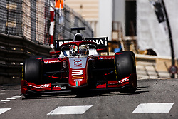 May 25, 2018 - Montecarlo, Monaco - 03 Sean GELAEL from India of PERTAMINA PREMA THEODORE RACING during the Monaco Formula Two race 1  at Monaco on 25th of May, 2018 in Montecarlo, Monaco. (Credit Image: © Xavier Bonilla/NurPhoto via ZUMA Press)