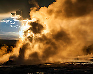 From the Lower Geyser Basin in Yellowstone National Park.