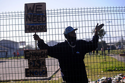 South Africa - Cape Town - 20 July 2020 -Protest in Bellville South as Cape Town awoke to widespread protest on Monday morning, with major highways impacted by demonstrations orchestrated, primarily, by the Cape Coloured People's Congress; better known as the 'Gatvol Capetonian' movement. A planned protest action were delivered to both the media and City of Cape Town officials on Sunday night Photographer Ayanda Ndamane African News Agency(ANA)