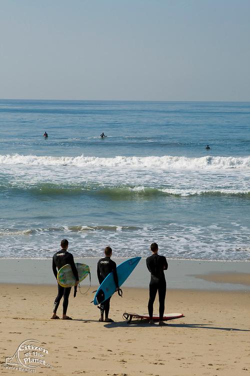 Venice Beach Surfers, Los Angeles, California, USA