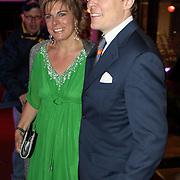 NLD/Apeldoorn/20080119 - Verjaardag Pr. Margriet 65 jaar, prins Constatijn en partner Laurentien Brinkhorst