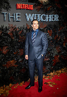 Henry Cavill at THE WORLD PREMIERE OFTHE WITCHER at Vue Leicester Square London,  UK - 16 Dec 2019 photo by  Brian Jordan