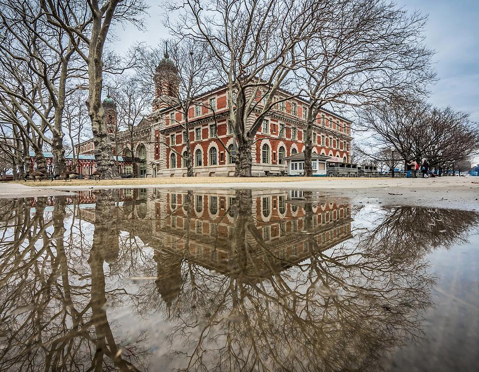 Renaissance Revival, Ellis Island, NYC