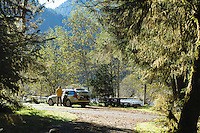 Hoh River Campground. Olympic National Park, WA