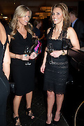 FRU THOLSTRUP; JULIE SULEYMAN;  Fine Wine and Dine in aid of  Sick Children's Trust. Cafe Anglais. London. 1 March 2012