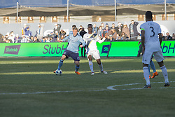March 11, 2018 - New York, New York, United States - Alex Ring (8) of NYC FC controls ball during regular MLS game against LA Galaxy at Yankee stadium NYC FC won 2 - 1  (Credit Image: © Lev Radin/Pacific Press via ZUMA Wire)