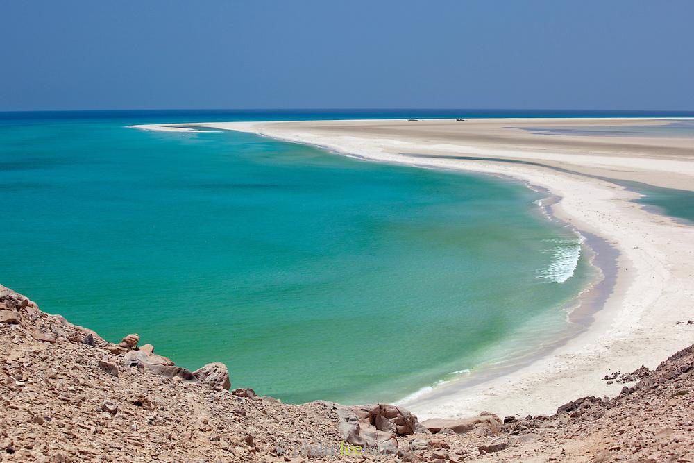 Coastline at Qalansia, Socotra, Yemen