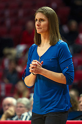 NORMAL, IL - October 30: Katie Falco during a college women's basketball game between the ISU Redbirds and the Lions on October 30 2019 at Redbird Arena in Normal, IL. (Photo by Alan Look)