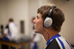 31 May 2010: Duke Blue Devils midfielder Justin Turri (12) before playing the Notre Dame Irish in the NCAA Lacrosse Championship at M&T Bank Stadium in Baltimore, MD.  The Blue Devils would go on that day to win the national title.