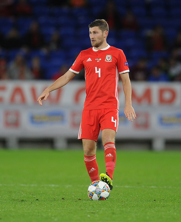 Wales' Ben Davies<br /> <br /> Photographer Kevin Barnes/CameraSport<br /> <br /> UEFA Nations League - Group Stage - League B - Group 4 - Wales v Republic of Ireland - Thursday September 6th 2018 - Cardiff City Stadium - Cardiff<br /> <br /> World Copyright © 2018 CameraSport. All rights reserved. 43 Linden Ave. Countesthorpe. Leicester. England. LE8 5PG - Tel: +44 (0) 116 277 4147 - admin@camerasport.com - www.camerasport.com
