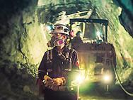 Tania Pineda, mining engineer at Proyecto San Julian, Chihuahua. Fresnillo plc
