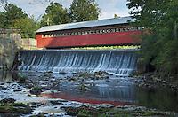 Paper Mill Village Bridge, Bennington Vermont