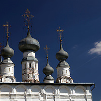 Europe, Russia, Suzdal. Church of Sts Peter and Paul, built in 1694.