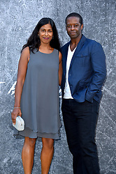 Adrian Lester and Lolita Chakrabarti attending the premiere of Yardie at the BFI Southbank, London.