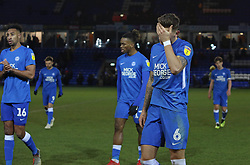 Ben White of Peterborough United leaves the pitch dejected at full-time - Mandatory by-line: Joe Dent/JMP - 02/02/2019 - FOOTBALL - ABAX Stadium - Peterborough, England - Peterborough United v Plymouth Argyle - Sky Bet League One
