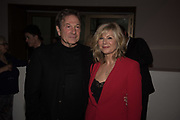 MICHAEL BRANDON; GLYNNIS BARBER Bonhams host a private view for their  forthcoming auction: Jackie Collins- A Life in Chapters' Bonhams, New Bond St.  3 May 2017.