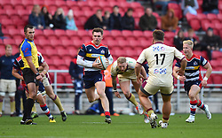 James Newey of Bristol Rugby - Mandatory by-line: Paul Knight/JMP - 22/10/2017 - RUGBY - Ashton Gate Stadium - Bristol, England - Bristol Rugby v Doncaster Knights - B&I Cup