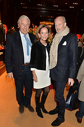 Left to right, MARTIN & ANNE SUMMERS and HARRY FANE at a party to celebrate the publication of 'A Designer's Life' by Nicky Haslam held at Ralph Lauren, 1 New Bond Street, London on 19th November 2014.