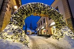 Kranjska Gora and Christmas decoration, on December 4, 2020 in Kranjska Gora, Slovenia. Photo by Matic Klansek Velej / Sportida