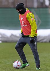 09.12.2010, Trainingsgelaende Werder Bremen, Bremen, GER, 1. FBL, Training Werder Bremen, im Bild Hugo Almeida (Bremen #23)   EXPA Pictures © 2010, PhotoCredit: EXPA/ nph/  Frisch       ****** out ouf GER ******