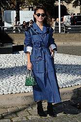 Miroslava Duma attending the Miu Miu show as a part of Paris Fashion Week Ready to Wear Spring/Summer 2017 in Paris, France on October 05, 2016. Photo by Aurore Marechal/ABACAPRESS.COM