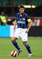 Fotball<br /> Italia<br /> Foto: Inside/Digitalsport<br /> NORWAY ONLY<br /> <br /> 06.10.2007<br /> Inter v Napoli 2-1<br /> <br /> Javier Zanetti Inter