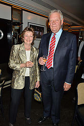FIELD MARSHAL LORD WALKER & LADY WALKER at the Style for Soldiers dinner held at Le Caprice, 20 Arlington Street, London on 24th May 2016.