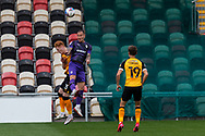 Tranmere Rover's Kieron Morris (7) in action during the EFL Sky Bet League 2 match between Newport County and Tranmere Rovers at Rodney Parade, Newport, Wales on 17 October 2020.