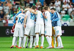 Players of Slovenia after the EURO 2016 Qualifier Group E match between Slovenia and England at SRC Stozice on June 14, 2015 in Ljubljana, Slovenia. Photo by Vid Ponikvar / Sportida