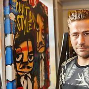 NLD/Amsterdam/20150714 - Opening tentoonstelling Selwyn Senatori, Dave Mantel