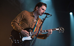 Chris Alderton of The Amazons performs on stage on day 1 of Standon Calling Festival on July 27, 2018 in Standon, England. Picture date: Friday 27 July, 2018. Photo credit: Katja Ogrin/ EMPICS Entertainment.