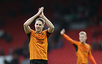 Football - 2016 / 2017 FA Cup - Fourth Round: Liverpool vs. Wolverhampton Wanderers<br /> <br /> David Edwards of Wolverhampton Wanderers celebrates after the match at Anfield.<br /> <br /> COLORSPORT/LYNNE CAMERON