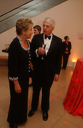 John and Dame Norma Major. National Portrait Gallery  150th Anniversary Fundraising Gala. National Portrait Gallery. London. 28 February 2006. ONE TIME USE ONLY - DO NOT ARCHIVE  © Copyright Photograph by Dafydd Jones 66 Stockwell Park Rd. London SW9 0DA Tel 020 7733 0108 www.dafjones.com