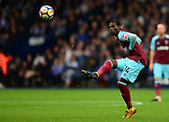 Pedro Obiang of West Ham United in action. Premier league match, West Bromwich Albion v West Ham United at the Hawthorns stadium in West Bromwich, Midlands on Saturday 16th September 2017. pic by Bradley Collyer, Andrew Orchard sports photography.
