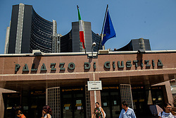 July 31, 2018 - Naples, Italy - View of Justice Palace in Naples, Italy, on 31 July 2018. (Credit Image: © Paolo Manzo/NurPhoto via ZUMA Press)