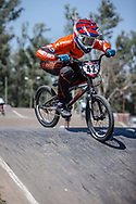 #42 (SCHIPPERS Jay) NED at round 8 of the 2018 UCI BMX Supercross World Cup in Santiago del Estero, Argentina.