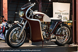 Set-up day at the Handbuilt Motorcycle Show. Austin, TX. April 9, 2015.  Photography ©2015 Michael Lichter.