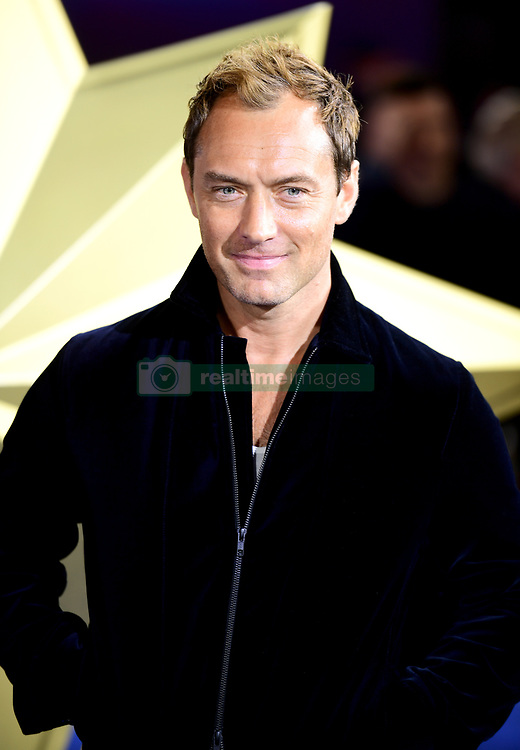 Jude Law attending the Captain Marvel European Premiere held at the Curzon Mayfair, London. Picture date: Wednesday February 27, 2019. Photo credit should read: Ian West/PA Wire
