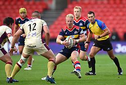 Reiss Cullen of Bristol Rugby - Mandatory by-line: Paul Knight/JMP - 22/10/2017 - RUGBY - Ashton Gate Stadium - Bristol, England - Bristol Rugby v Doncaster Knights - B&I Cup
