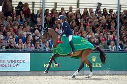 Farrington Kent, USA, Sherkan D Amaury<br /> Rolex Grand Prix Jumping<br /> Royal Windsor Horse Show<br /> © Hippo Foto - Jon Stroud