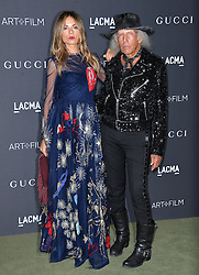 Erica Pelosini and James Goldstein attend the 2016 LACMA Art + Film Gala honoring Robert Irwin and Kathryn Bigelow presented by Gucci at LACMA on October 29, 2016 in Los Angeles, California. Photo by Lionel Hahn/AbacaUsa.com