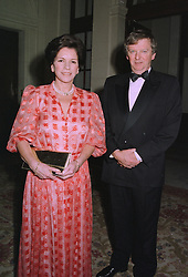 MR DONALD & LADY CECIL CAMERON  at a dinner in London on 2nd October 1997.MBW 21